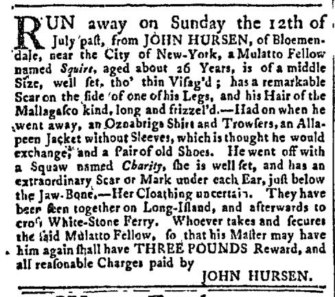 Sep 28 - New-York Gazette Slavery 2