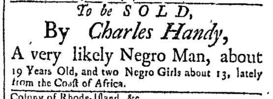 Sep 28 - Newport Mercury Slavery 1