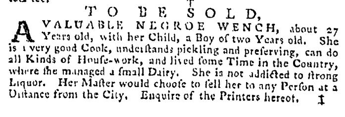 Sep 3 - Pennsylvania Gazette Supplement Slavery 4