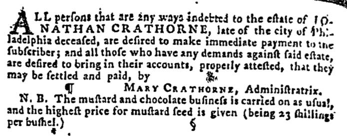 Oct 4 - 10:1:1767 Pennsylvania Gazette