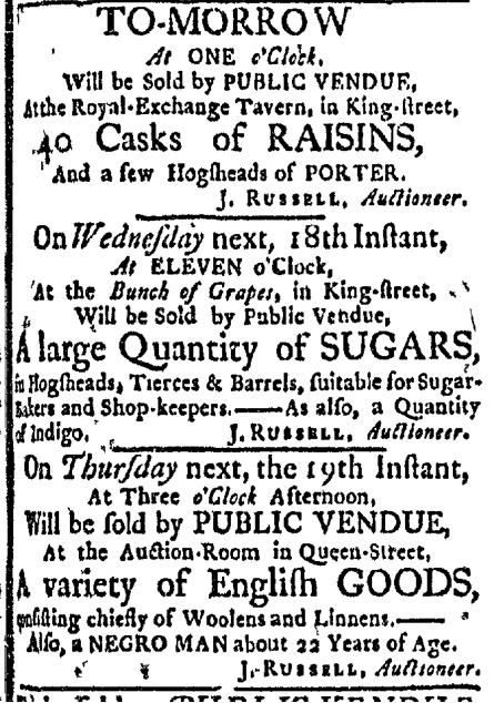 Nov 16 - Boston Evening-Post Slavery 2