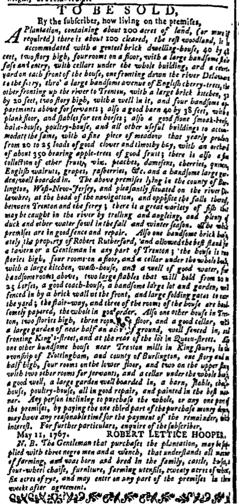 Nov 16 - New-York Mercury Supplement Slavery 2