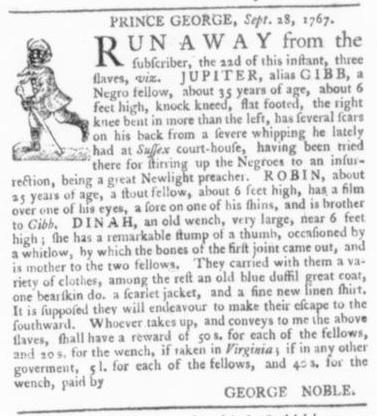 Oct 15 - Virginia Gazette Slavery 7