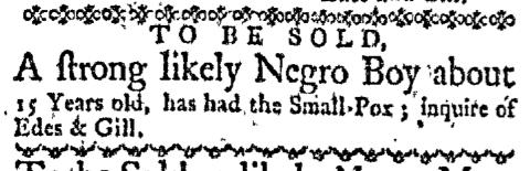 Oct 19 - Boston-Gazette Slavery 3