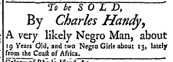 Oct 19 - Newport Mercury Slavery 1