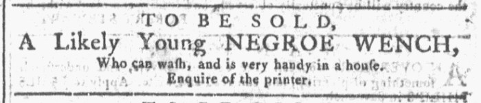 Oct 21 - Georgia Gazette Slavery 11