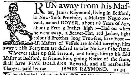 Oct 22 - New-York Journal Supplement Slavery 1