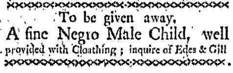 Oct 26 - Boston-Gazette Supplement Slavery 2