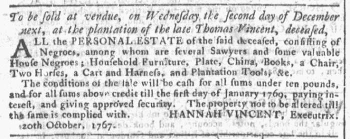 Oct 28 - Georgia Gazette Slavery 7