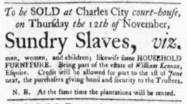 Oct 29 - Virginia Gazette Slavery 2