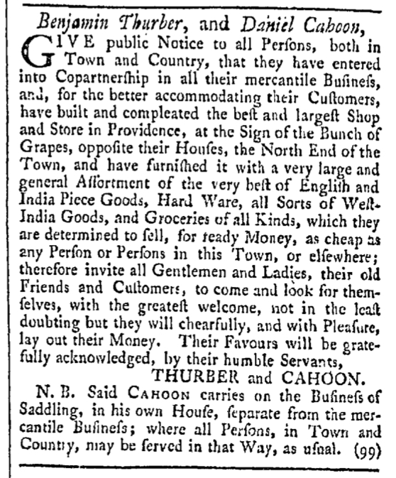 Oct 31 - 10:31:1767 Providence Gazette