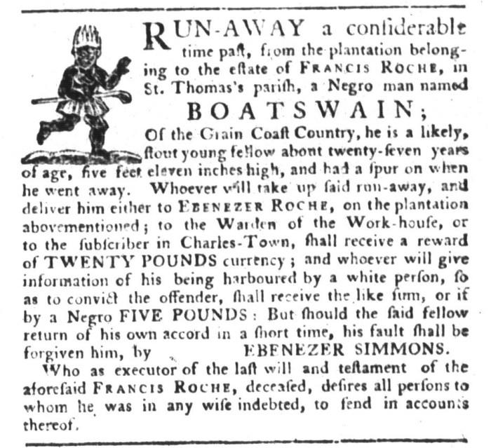 Dec 15 - South-Carolina Gazette and Country Journal Addition Slavery 3