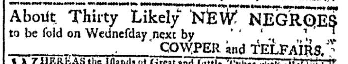 Dec 16 - Georgia Gazette Slavery 1