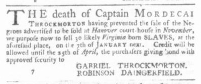 Dec 24 - Virginia Gazette P&D Slavery 6