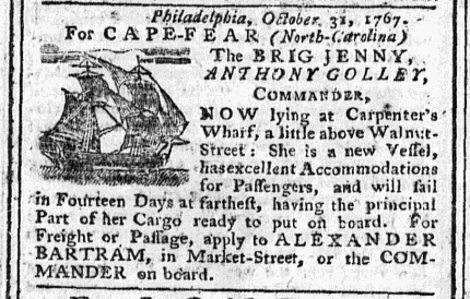 Nov 11 - 11:11:1767 Pennsylvania Chronicle Extraordinary