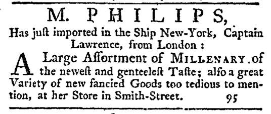 Nov 19 - 11:19:1767 New-York Journal Supplement