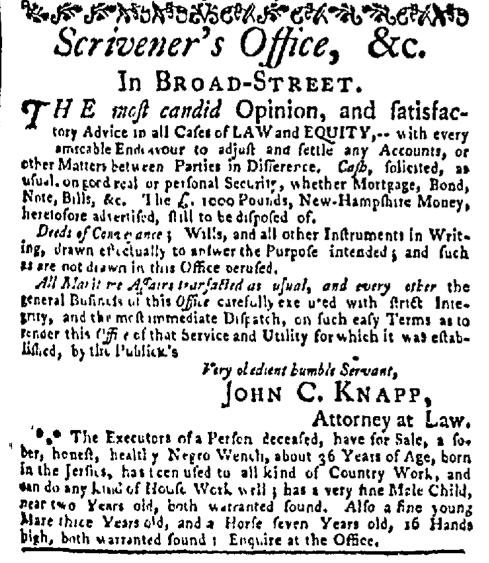 Nov 23 - New-York Mercury Slavery 2