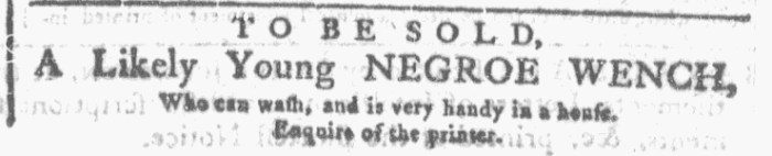 Nov 25 - Georgia Gazette Slavery 6
