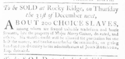 Nov 26 - Virginia Gazette Slavery 7