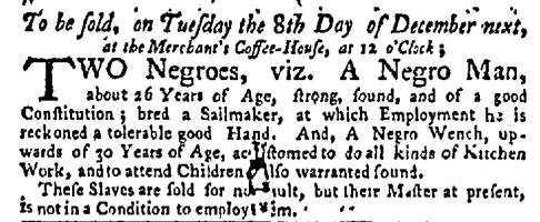 Nov 30 - New-York Mercury Slavery 1