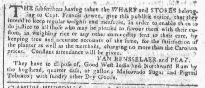 Dec 23 - 12:23:1767 Georgia Gazette