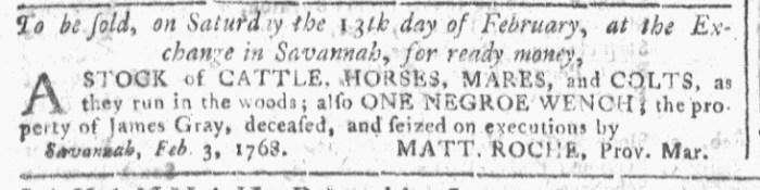 Feb 10 - Georgia Gazette Slavery 6