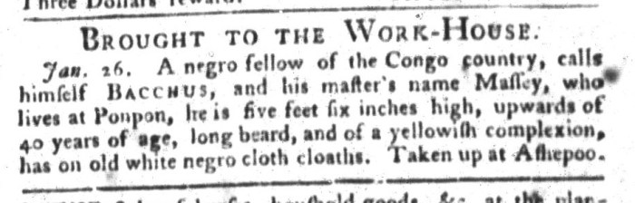 Feb 2 - South-Carolina Gazette and Country Journal Slavery 6
