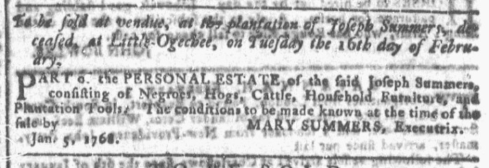 Feb 3 - Georgia Gazette Slavery 6