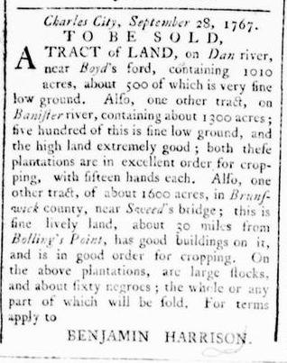 Feb 4 - Virginia Gazette Rind Slavery 4