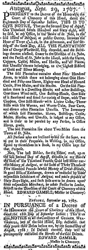 Jan 21 - Massachusetts Gazette Slavery 2