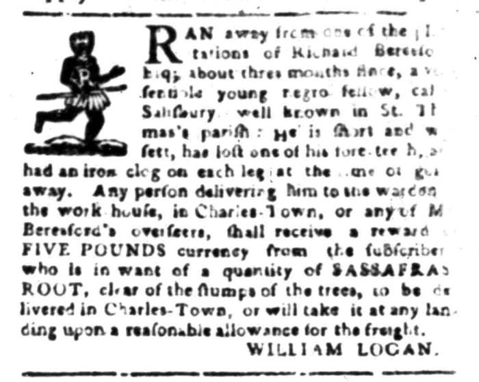 Jan 25 - South Carolina Gazette Slavery 4
