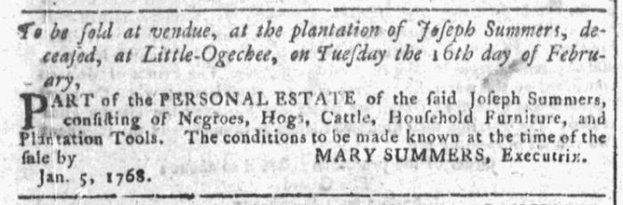 Jan 27 - Georgia Gazette Slavery 3