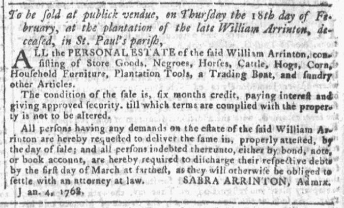 Jan 27 - Georgia Gazette Slavery 8