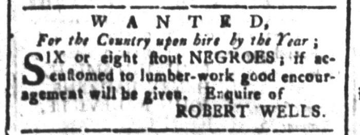 Jan 29 - South-Carolina and American General Gazette Slavery 12