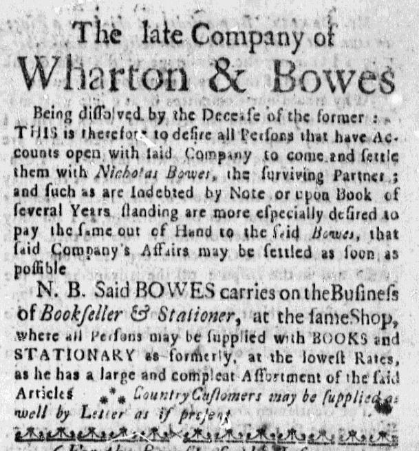 Feb 11 - 2:11:1768 Massacusetts Gazette