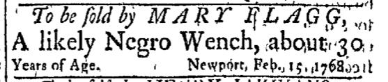 Feb 15 - Newport Mercury Slavery 1