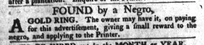 Feb 16 - South-Carolina Gazette and Country Journal Addition Slavery 1