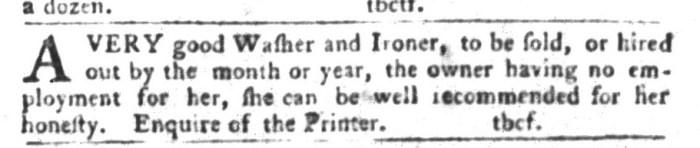 Feb 23 - South-Carolina Gazette and Country Journal Slavery 7
