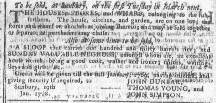 Feb 24 - Georgia Gazette Slavery 7