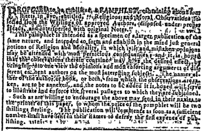 Feb 3 - 2:3:1768 Image 2 Georgia Gazette