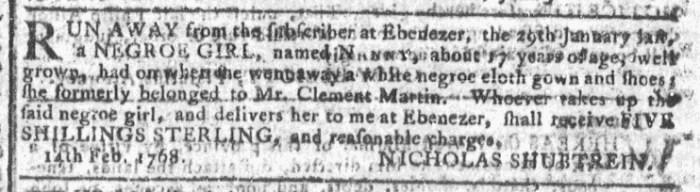 Mar 2 - Georgia Gazette Slavery 7