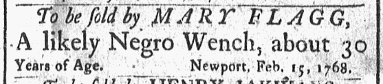 Mar 7 - Newport Mercury Slavery 1