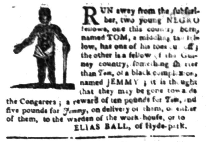 Mar 7 - South Carolina Gazette Slavery 6