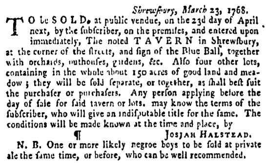 Apr 7 - Pennsylvania Gazette Supplement Slavery 3
