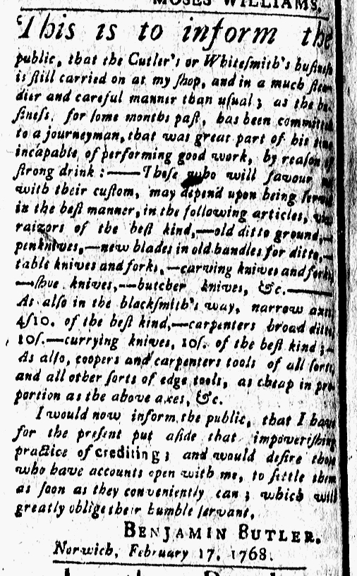 Mar 11 - 3:11:1768 New-London Gazette