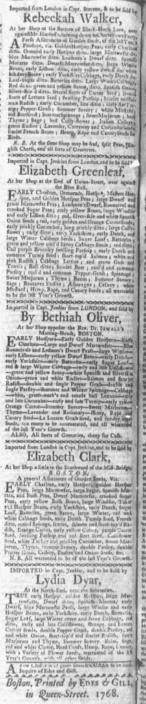 Mar 14 - 3:14:1768 Boston-Gazette
