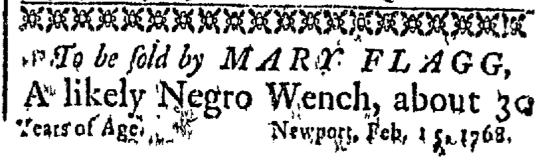 Mar 14 - Newport Mercury Slavery 1