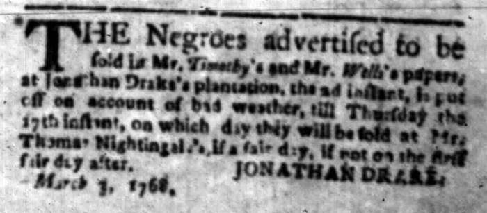 Mar 14 - South Carolina Gazette Slavery 7