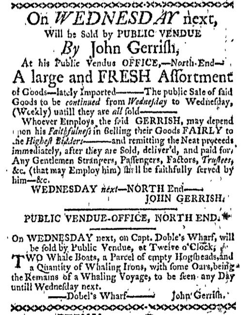 Mar 28 - 3:28:1768 Boston-Gazette