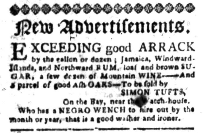 Mar 28 - South Carolina Gazette Slavery 1
